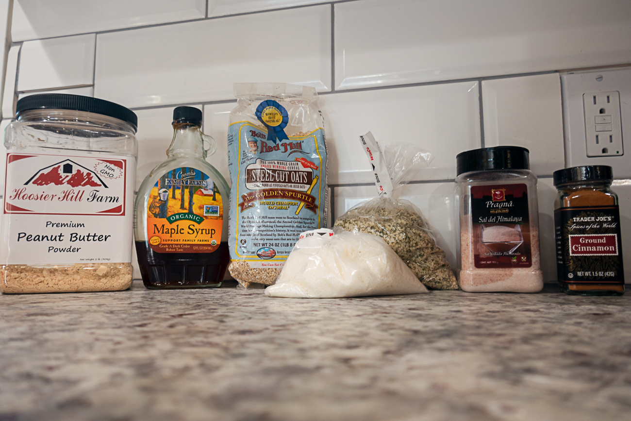 Dehydrated oatmeal recipe ingredients