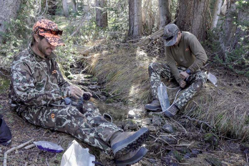 Water Filters for Backcountry Hunting